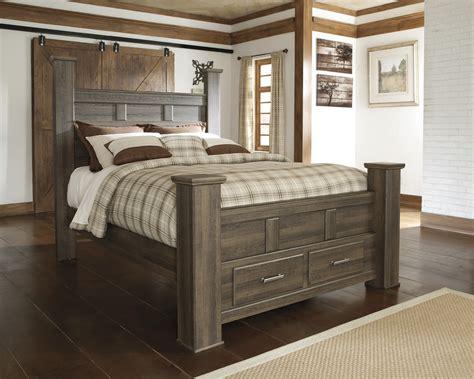 Buy Juararo King Poster Storage Bed By Signature Design