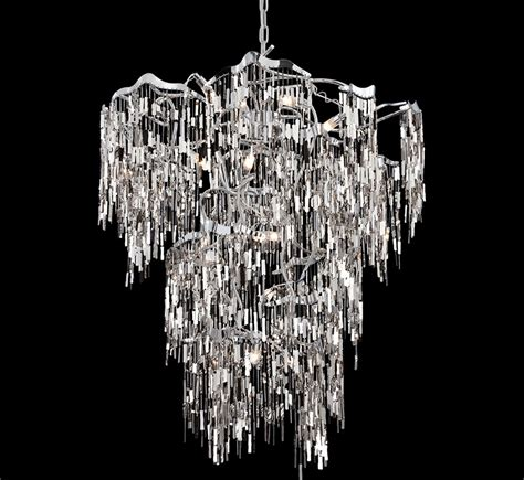 large chandelier elfassy 19 light large contemporary chandelier