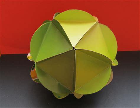 origami circle box how to make an icosahedron from circles