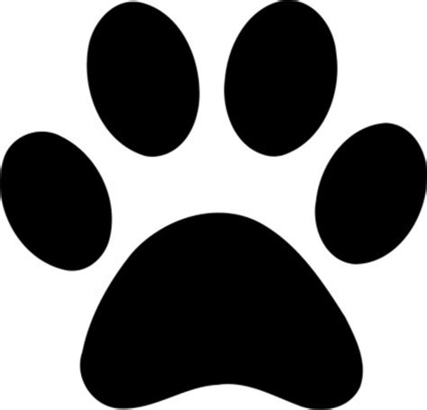paw print paw print free images at clker vector clip