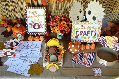 thanksgiving table crafts for crafty chevron thanksgiving table ideas