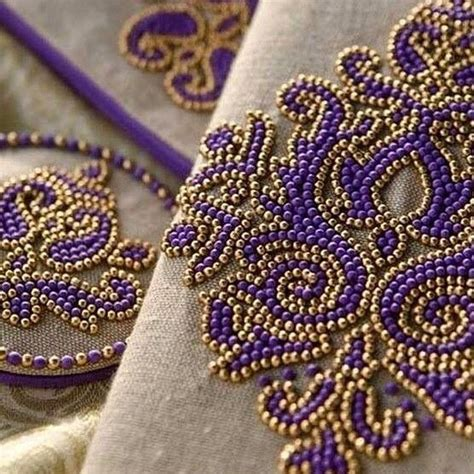 embroidery beading patterns 62 best beading bead embroidery images on