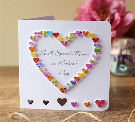 how to make handmade mothers day cards image gallery handmade s day cards