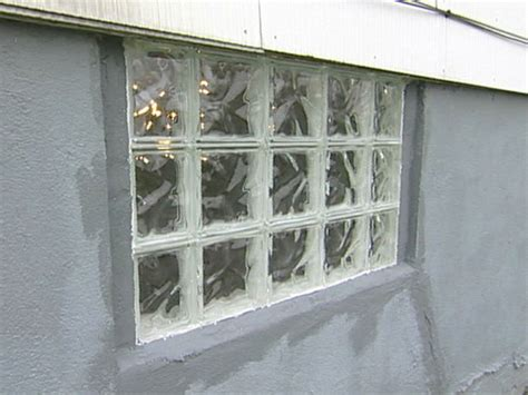 basement glass block windows how to build a glass block wall how tos diy