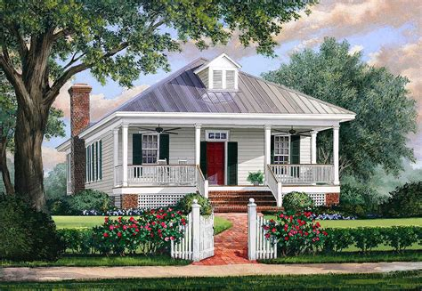 cottage home plans southern cottage house plan with metal roof 32623wp 1st floor master suite cottage country