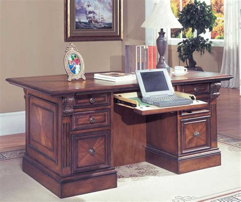 executive computer desk for home wood executive desk collections