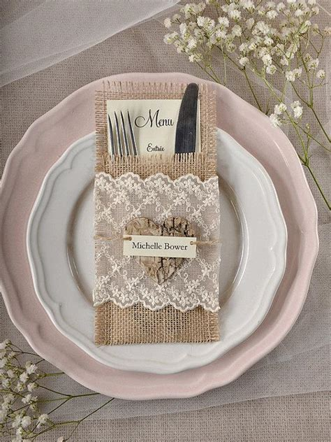 Wedding Plates And Silverware