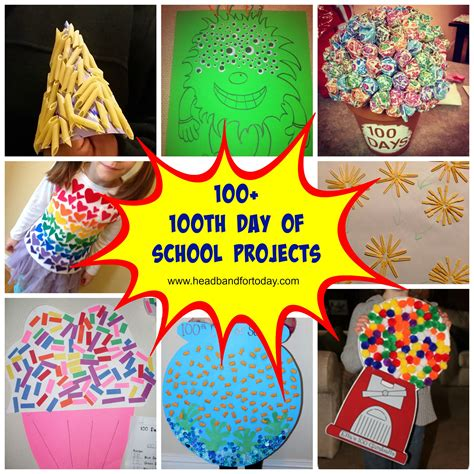 school craft projects 100 100th day of school projects