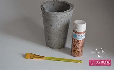 diy cement planters craftaholics anonymous 174 diy cement planters using