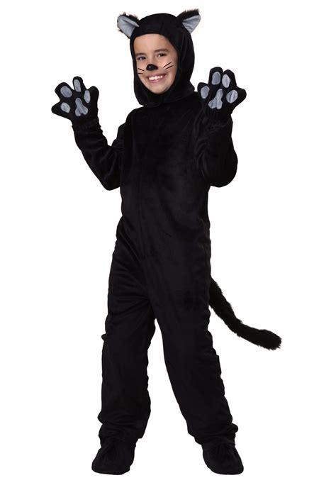 for a cat costume child black cat costume