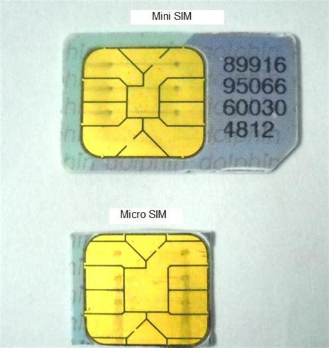 how to make micro sim from normal sim card is a quot mini sim quot the regular sim card hotukdeals