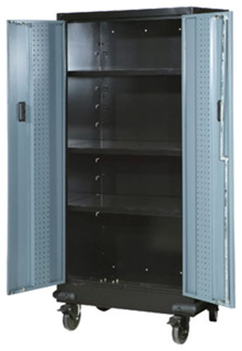 rubber st storage cabinets spg international 30 quot storage cabinet with casters