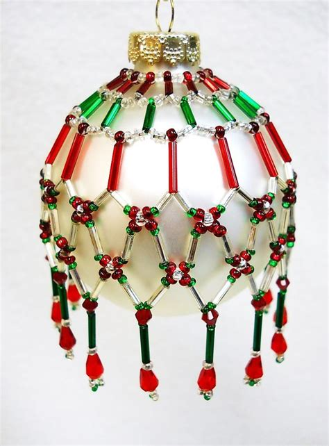 beaded ornament cover patterns free pattern only beaded ornament cover