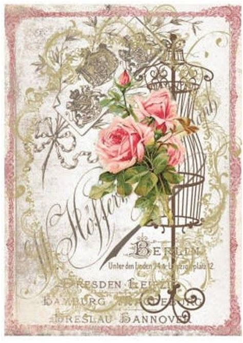 decoupage paper vintage flower picasa and decoupage paper on