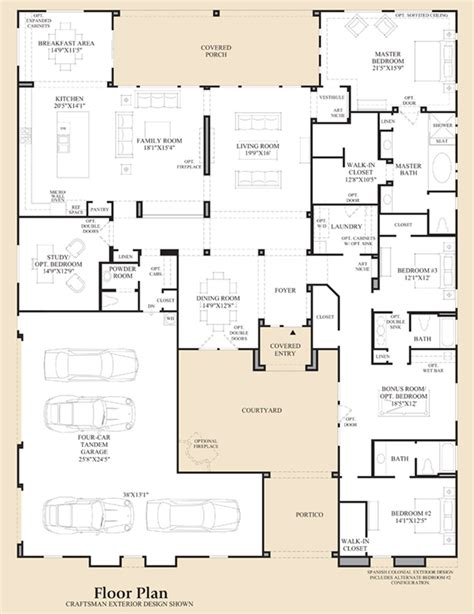 toll brothers floor plans dorada estates the aracena home design