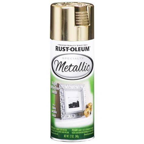 spray paint metal shop rust oleum 11 oz metallic gold spray paint at lowes