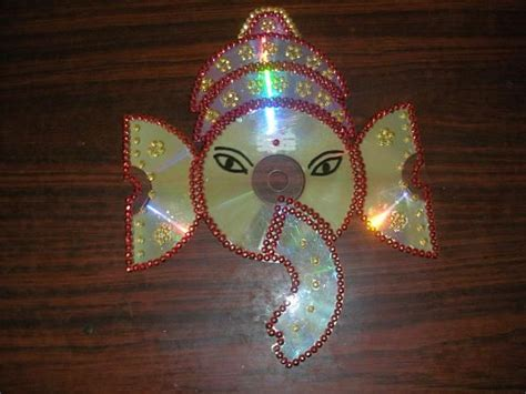 best out of waste craft ideas for crafts ideas using trash lord ganesh using waste cd