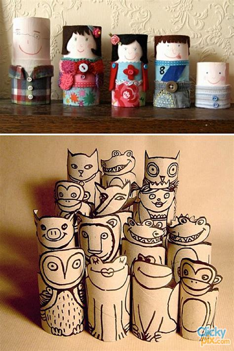 Toilet Paper Roll Crafts 9 Clicky Pix