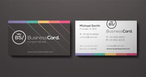 card company corporate business card vol 5 business cards templates