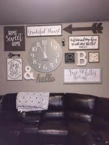 rustic home decorating ideas living room best 25 rustic gallery wall ideas on rustic