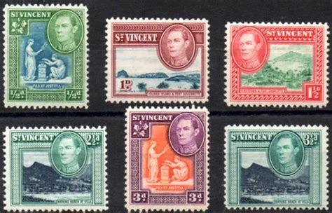 postage st rubber st postage sts and postal history of vincent and the