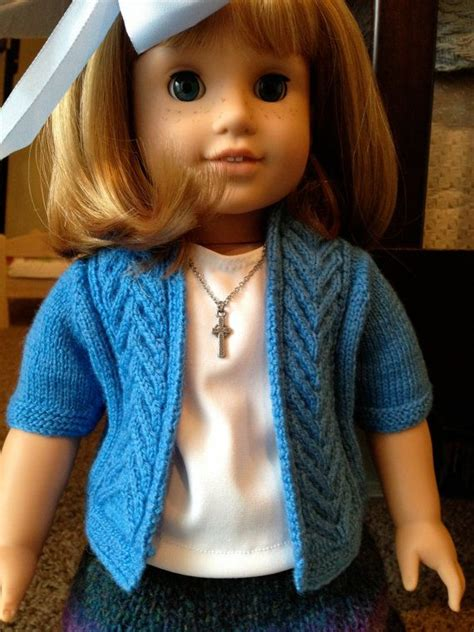 dolls cardigan knitting pattern 17 best images about 18 inch doll knitting crochet