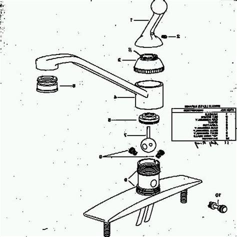 moen kitchen faucets parts diagram moen kitchen faucet parts diagram 100 images