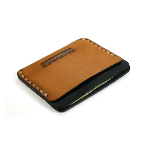 how to make a leather card holder slim leather wallet with and credit card holder