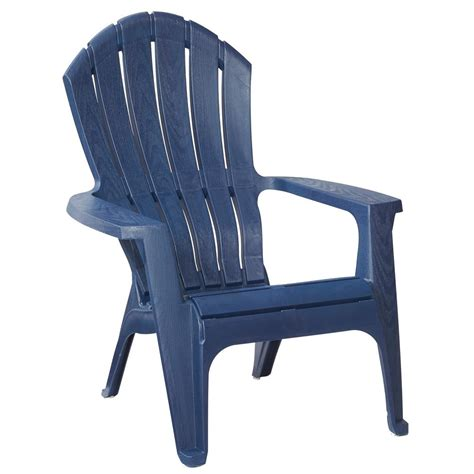 plastic patio chairs home depot midnight stackable outdoor adirondack chair 231723 the