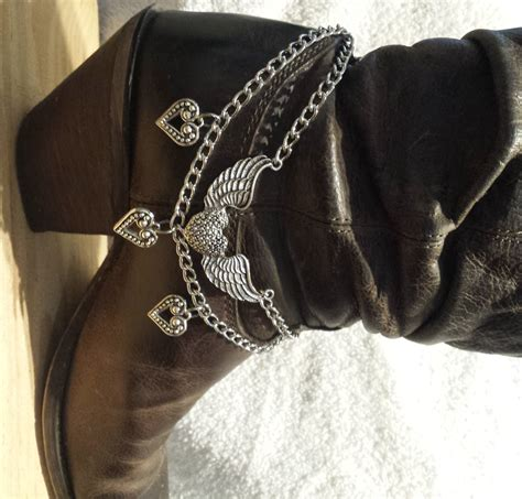 how to make boot jewelry flying boot braceletboot blingboot chainwestern