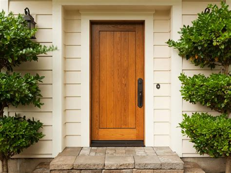 exterior door pictures the pros and cons of a wood front door diy