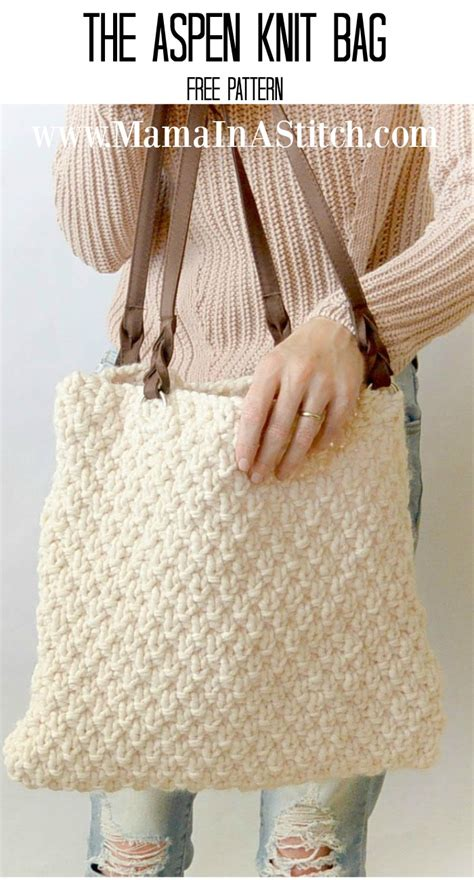 free knitting patterns for bags totes 1000 images about cast on on knitting