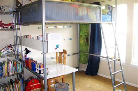 ikea hack loft bed ikea hack turn a loft bed into a regular bed desk