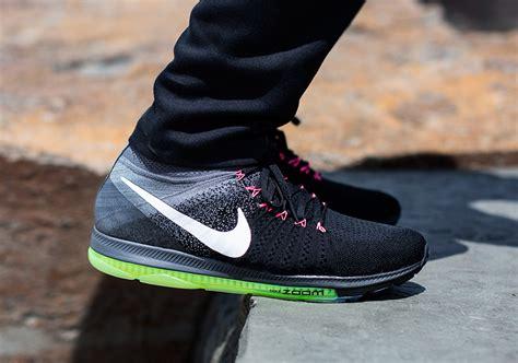 fly knit nike nike zoom all out flyknit black grey sneaker bar detroit
