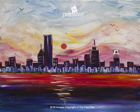 paint nite newbury the paint bar sky at sailors delight 04 16 17