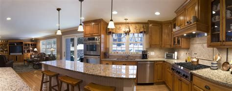 open floor plan kitchen and living room kitchen open floor plan definition small