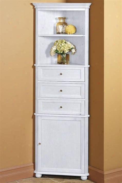 Corner Bathroom Cabinet White by Bathroom Corner Linen Cabinet Bathroom Cabinets