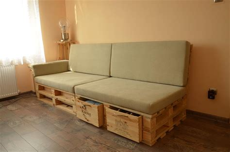 sofas with storage diy pallet sofa with storage total survival