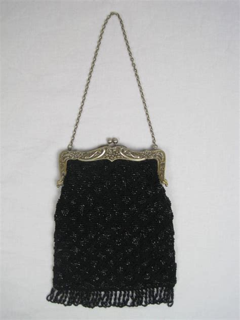 beaded purses antique beaded purse with nouveau frame at 1stdibs