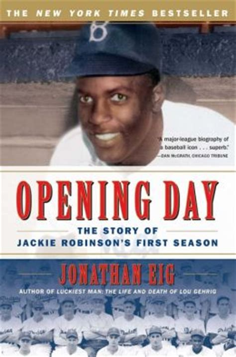 a picture book of jackie robinson opening day the story of jackie robinson s season