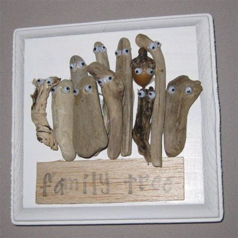 driftwood craft projects driftwood craft family tree