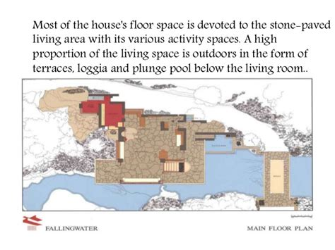 fallingwater floor plans casestudy of falling water