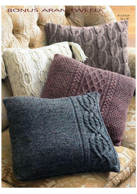 cushion knitting pattern vintage aran cushion cover set knitting pattern digital
