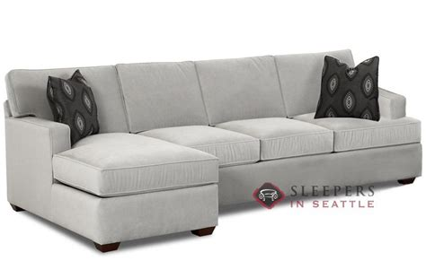 sleeper sofa chaise customize and personalize lincoln chaise sectional fabric