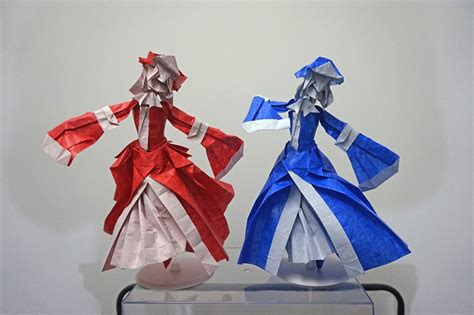 25 Japanese Anime Characters In Origami Form