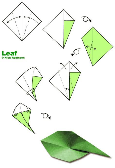 origami with leaf leaf by nick robinson