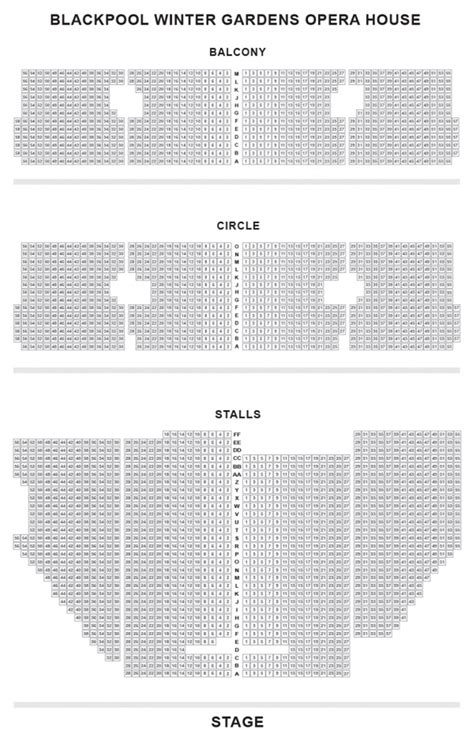 opera house theatre blackpool seating plan blackpool opera house seat plan for mamma blackpool