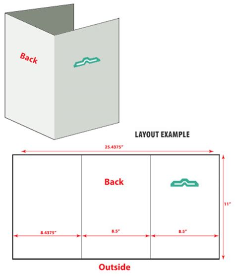 8 5 x 11 folded 6 page brochure template download adobe