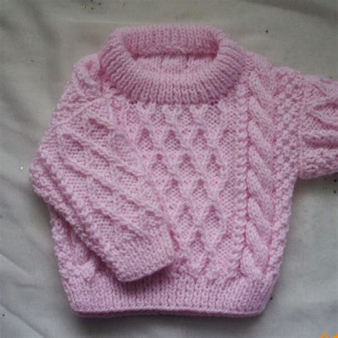 toddler sweaters to knit treabhair pdf knitting pattern for baby or toddler cable