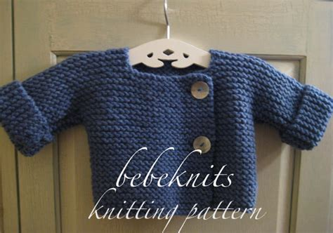one cardigan knitting pattern bebeknits simple style baby cardigan knitting pattern